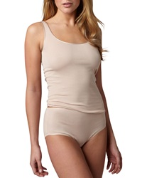 Hanro Cotton Seamless Briefs Skin Skin X Small