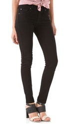 James Jeans Twiggy 5 Pocket Skinny Jeans Black Clean