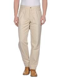 Slacks And Trousers Trousers Casual Trousers Men Beige