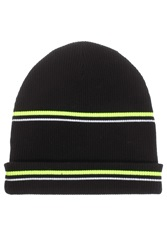 Alexander Wang Neon Striped Beanie