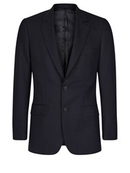 Aquascutum London Men's Hopsack Jacket Navy