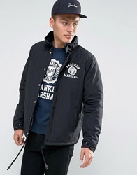 Franklin And Marshall Coach Jacket Black