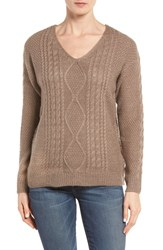 Rd Style Women's Back Cutout Cable Knit Sweater