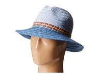 Bcbgeneration Ribbon Panama Seaside Traditional Hats Blue