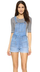 Madewell Short Overalls With Patch Pocket Isley