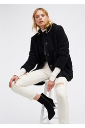 Free People Womens Sherpa Liner Coat