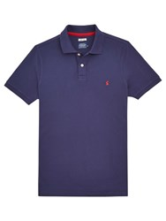 Joules New Maxwell Polo Shirt Ink Blue