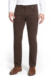 Ag Jeans Graduate Tailored Leg Pant Brown
