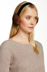Dena Genuine Mink Fur Earmuff Brown