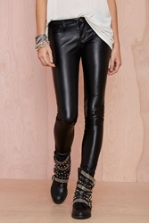 Nasty Gal Blank Nyc Blacked Out Vegan Leather Pant