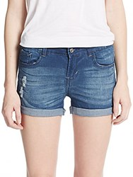 Kensie Jeans Distressed Jean Shorts Lombard