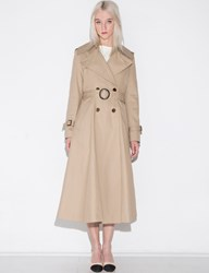 Pixie Market Belted Dress Trench Jacket