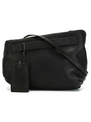 Marsell Marsell Asymmetric Shoulder Bag Black