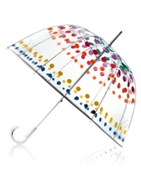Totes Bubble Umbrella Primary With Dots