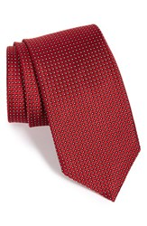 Men's J.Z. Richards Geometric Silk Tie Red