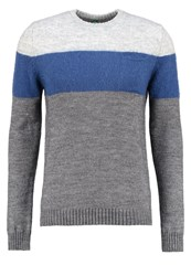 United Colors Of Benetton Jumper Grey Blue