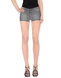 Blugirl Folies Denim Denim Shorts Women Grey