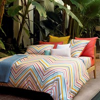 Olivier Desforges Majestic Multicolour Duvet Cover Single