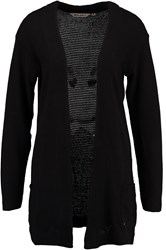 Garcia Long Cardigan Black