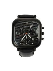 Orolog By Jaime Hayon Analog Water Resistant Watch Black