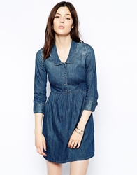 Levi's 3 4 Sleeve Modern Western Dress Darkheritage