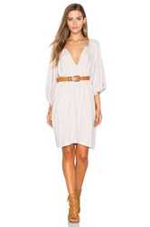 Sam And Lavi Naville Dress Light Gray