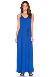 Oh Boy Vestido Maxi Dress Blue