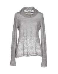 Ermanno Scervino Scervino Street Turtlenecks Light Grey