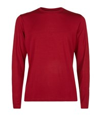 Polo Ralph Lauren Long Sleeve Lounge Top Male Red