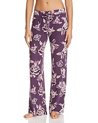 Pj Salvage Bella Long Pants Plum
