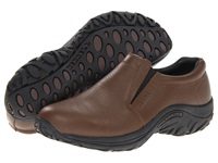 Merrell Jungle Moc Leather Mahogany Brown Men's Slip On Shoes