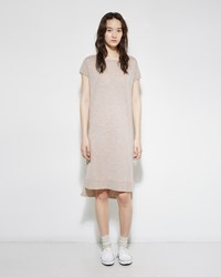 Organic By John Patrick Merino Sweater Dress Oat