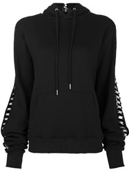 Hood By Air 'Lace Lock' Hoodie Black