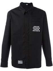 Ktz Star Patch Shirt Black