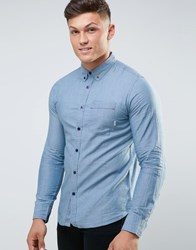 Element Cooper Shirt Blue
