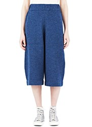 Lauren Manoogian Miter Knit Culottes Blue