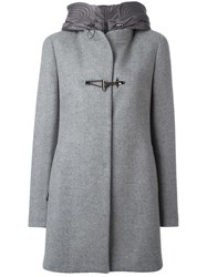 Fay Duffle Coat Grey