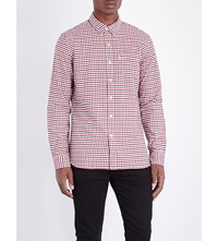 Levi's Sunset Regular Fit Cotton Shirt Mentha Cherry Bomb