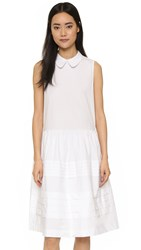 English Factory Collared Dress Off White