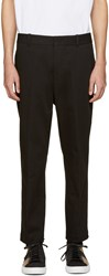 3.1 Phillip Lim Black Cropped Sadle Trousers