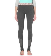 Sweaty Betty Turn Out Stretch Dance Leggings Charcoal Grey