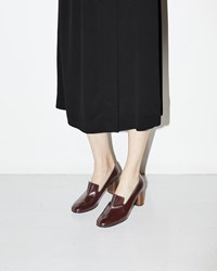 Rachel Comey May Pump Bordo Satinado