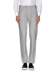 Seventy By Sergio Tegon Trousers Casual Trousers Men Light Grey