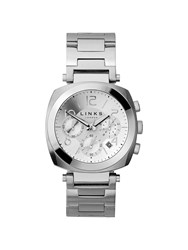 Links Of London Brompton Mens Stainless Steel Watch Silver