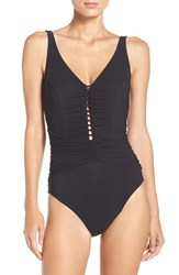 Gottex Women's Profile By Cocktail Party Underwire One Piece Swimsuit