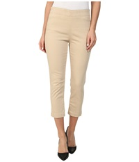 Miraclebody Jeans Louise Pull On Cropped Jegging Cashew Women's Jeans Beige