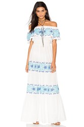 Nightcap Greek Isle Maxi Dress White