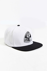 Hall Of Fame X Mitchell And Ness Brooklyn Nets Upside Down Snapback Hat Black