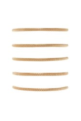 Forever 21 Cable Chain Bracelet Set