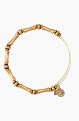 Alex And Ani 'Bamboo' Expandable Wire Bracelet Gold
